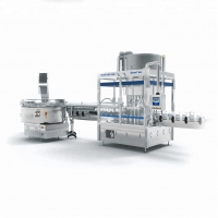 Buy cheap 3.5KW Touch Screen Control Hand Sanitizer Filling Machine from wholesalers