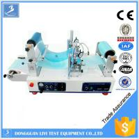 Buy cheap Automatic Adhesive Testing Equipment , Hot Melt Roll to Roll UV Coating Machine from wholesalers