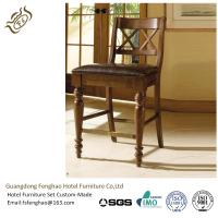 Buy cheap Chatham Commercial Grade Bar Stools Wooden Backrest Rubber Wood Bar Furniture from wholesalers