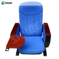Buy cheap Advanced Blue Auditorium Chair With Writing Pad for Cinema, Theater, Office, Church from wholesalers