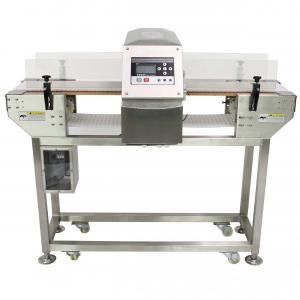 Wholesale Digital food grade conveyor belt type metal detector / metal detector in frozen food industry from china suppliers