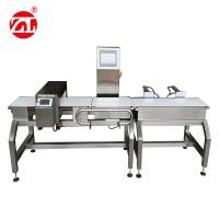 Buy cheap Automatic Alarm Light Combined Convey Belt Food Metal Detector Checkweigher from wholesalers