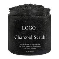 Buy cheap Reduce Pores Bamboo Charcoal Body Scrub , Dead Sea Salt Body Scrub Detoxification from wholesalers