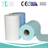 [China factory] High tensile industrial cleaning woodpulp laminated spunlace Manufactures