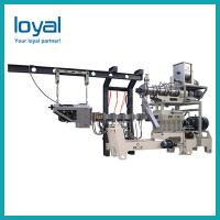 Buy cheap Double Screw Fried Puff Ball Crispy Bugle Chip Core Filled Maize Flour Small Corn Puff Food Snack Extruder Machine from wholesalers