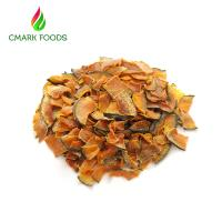 Buy cheap Professional Dried Pumpkin Slices Orange Red Color Healthy Snack ISO Certification from wholesalers