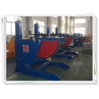 Tilting Pipe Rotary Welding Positioners Adjustable With Slewing Bearing Manufactures