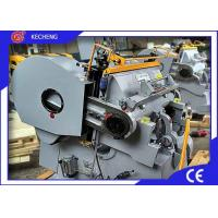 Buy cheap Flatbed Paper board Die Cutting Creasing Machine from wholesalers