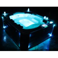 Buy cheap acrylic free standing hot sale whirlpool massage outdoor spa tub(Athena) from wholesalers