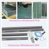 Buy cheap Guangzhou screen multi-touch digital interactive whiteboard digital electronic whiteboard from wholesalers