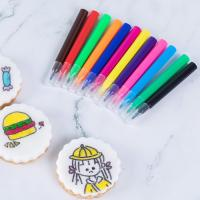Buy cheap Kids Fun DIY Cookies Fine Point Edible Marker Pen Mini Size 9 Colors from wholesalers