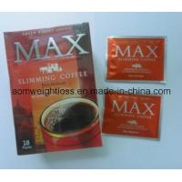 Max Slimming Coffee Korean Ginseng & Ganoderma repidly slimming Extract  OEM/ODM Lose Weight Max Slimming Coffee Manufactures