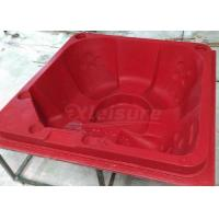 Buy cheap Hand Made Acrylic Hot Tub Mold  175mm Corner Radius With Barrier - Free Seats from wholesalers