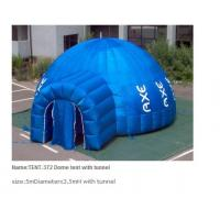 Buy cheap Inflatable Tent / Inflatable dome tent / inflatable tunnel tent from wholesalers
