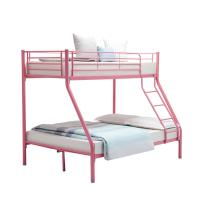 Buy cheap Children Double Bunk Metal Pipe Bed Customizable With School Dormitory from wholesalers