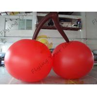 Buy cheap Red PVC 3m High Cherry Shaped Balloons For Trade Fair Display from wholesalers
