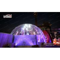 Buy cheap 3-60M diameter geodesic dome tent, High quality PVC geodesic dome tent, Clear large Glamping hotel geodesic dome tent from wholesalers