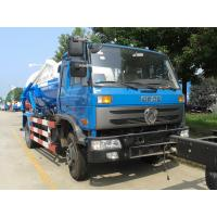 Buy cheap 10 Ton Sewage Collection Truck Dongfeng 10cbm Vacuum Sewage Sucking Truck from wholesalers