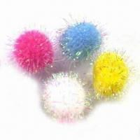 Wholesale Iris Pompom, Available in Various Colors and Sizes from china suppliers