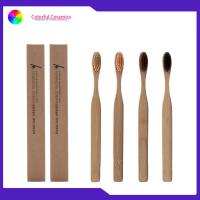 Buy cheap 4 Pack Kids Travel Toothbrush Bamboo Charcoal Bristle Biodegradable Eco Friendly from wholesalers