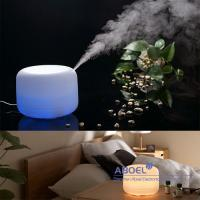 Buy cheap 500ml Ultrasonic Aroma Diffuser Oil Diffuser 4 Timer Setting , Color Changing Light from wholesalers
