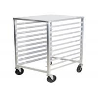 Buy cheap Bun Pan Bakery Oven Commercial Bakery Rack Trolley With Heat Resistant Wheels from wholesalers