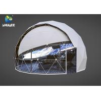 Wholesale High Technology Immersive Full Dome Cinema 4D Cinema Dome Projection With 14 Cinema Chairs from china suppliers