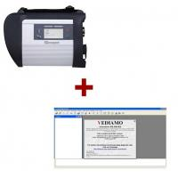 Buy cheap Wireless Star Diagnostic Tool MB SD Connect Compact 4 Plus Vediamo V05.00.05 Development and Engineering Software from wholesalers