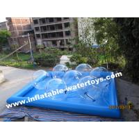 Buy cheap Durable 0.6mm Inflatable Water Pools , Fashion Water Park Water Walking Ball from wholesalers