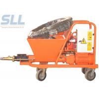 Buy cheap Wall Wet Mortar Gun Cement Plastering Machine Mortar Spraying Plastering Tool from wholesalers