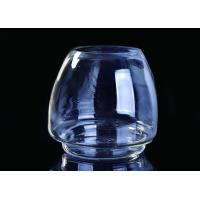 Buy cheap Popular Custom Candle Glass Containers Crystal Glass Candle Vessels For Decoration from wholesalers