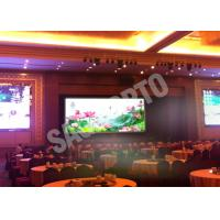 Buy cheap Hire High Resolution Indoor Advertising LED Display Video Wall 17222 Dots / ㎡ Programmable from wholesalers