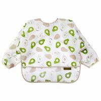 Buy cheap Mealtime Baby Feeding Smock Long Sleeve Bibs For Toddlers 6-36 Months from wholesalers