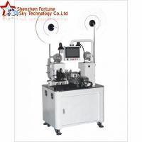 Buy cheap Automatic cut-to-length strip flat ribbon cable terminal crimping machine from wholesalers