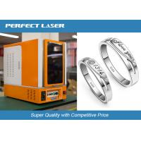 Full Closed Cabinet Laser Marking Machine For Hardware Tools / Kitchen Knives / Bottles Manufactures
