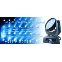 Wholesale 108x3W RGB RGBW LED Moving Head Light (CL-919A) from china suppliers