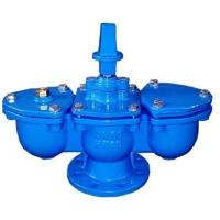 Buy cheap Double Orifice Kinetic Air Valve DN80 Cast Iron PN16 Low Maintenance from wholesalers