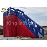 Buy cheap Economic 15.5 x 12 x 13.3m Inflatable Surfing Water Slide For Kids Or Adults from wholesalers