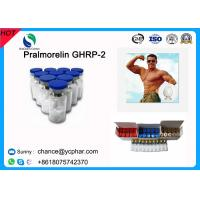 Buy cheap High Purity Human Muscle Building Injection Peptides Pralmorelin GHRP-2/GHRP2,3,1 CAS158861-67-7 from wholesalers
