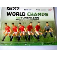 Buy cheap Custom plastic soccer figure toys, plastic football player toys from wholesalers