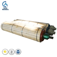 Wholesale Paper Product Making Machinery Stainless Steel Breast Roll For Paper Machine Wire Part from china suppliers