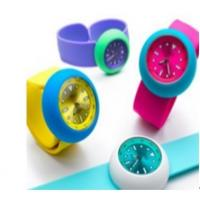 Buy cheap Silicone slap bracelet watch for 2012 London Olympic Game  from wholesalers