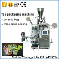 Buy cheap automatic tea packing machine / loose leaf tea packing machine from wholesalers
