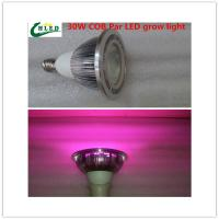Wholesale E27 Led grow light 20W/30/W/40W COB led Grow Lights full spectrum 380-840nm Indoor plants growing lights from china suppliers