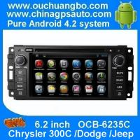 Buy cheap Ouchuangbo Chrysler 300C /Dodge /Jeep navi radio with gps navigation dvd iPod android 4.2 from wholesalers