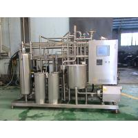 Buy cheap Industrial Yoghurt  / Ice Cream Pasteurizer 10 T / H With 52 M2 Heat Exchanging Area from wholesalers