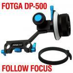 Buy cheap Fotga DP500 System DSLR Rig Follow Focus 15mm Rod for 5D II 7D 600D DSLR HDSLR from wholesalers