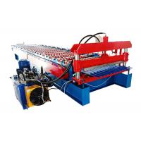 Buy cheap Popular Corrugated Steel Roofing Sheet Roll Forming Machine For Wall And Roof Of House from wholesalers