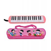 Wholesale ABS Plastic Shell Copper board 37 key Melodica kids toy with Cartoon leather box-AGME37A-3 from china suppliers