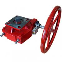 Buy cheap Red Pneumatic Valve Accessories Manual Declutchable Manual Override Gearbox from wholesalers